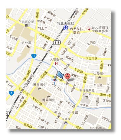 台湾 凯旋路地图